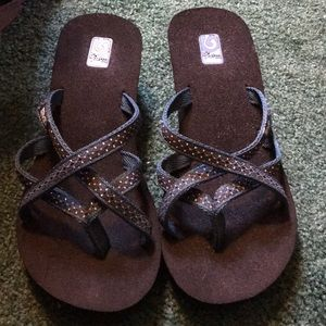 New without tags teva wedge sandals sz 7